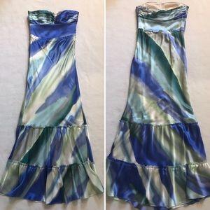 BR Monogram Silk Gown